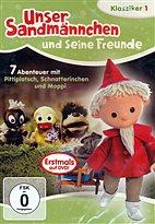DVD - Unser Sandmännchen 1 - Abenteuer mit Pittiplatsch, Schnatterinchen u Moppi