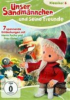 DVD - Unser Sandmännchen 6 - 7 spannende Entdeckungen mit Fuchs u. Elster