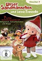 DVD - Unser Sandmännchen 7 - 7 Spiele mit Pitti, Schnatterinchen und Moppi