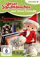 DVD - Unser Sandmännchen 8 - 7 Geschichten über Spuk u Zauberei mit Pittiplatsch