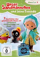 DVD - Unser Sandmännchen 9 - 7 Geschichten über geheimnisvolle Wesen mit Pitti
