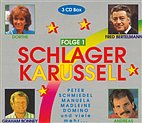 3-CD Box - Schlagerkarussell - Folge 1 / Manuela, Dorthe, Graham Bonney u.a.
