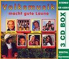 3-CD Box - Volksmusik macht gute Laune/ Robert Jung, Wezelbach Musikanten u.a.