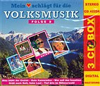 3-CD Box - Mein Herz schlägt für die Volksmusik F.2 / Edith Prock, Heino, u.a.