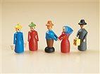5 Holzfiguren (Auhagen 10156)
