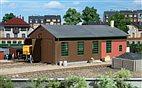 11332 Auhagen - Lokschuppen 2-ständig - HO Bausatz