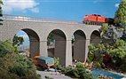 HO Bausatz - Eisenbahnbrücke (Auhagen 11344)