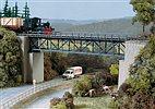 Auhagen 11364 - HO Bausatz - Fachwerkbrücke