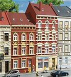 HO Bausatz - Stadthäuser Schmidtstraße Nr. 27/29 (Auhagen 11417)