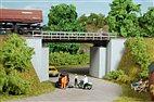 11428 Auhagen - HO Bausatz - Kleine Brücke