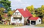 HO/TT Bausatz - Haus mit Garage (Auhagen 12222)