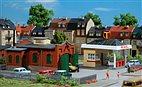 HO/TT Bausatz - Tankstelle mit Kfz-Werkstastt (Auhagen 12227)
