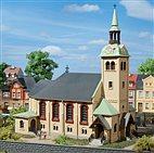 HO/TT Bausatz- Kirche Börnichen (Auhagen 12229)