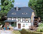 HO/TT Bausatz - Wassermühle (Auhagen 12230)
