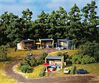 13315 Auhagen - 4 Wochenendhäuser - TT Bausatz