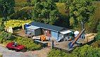 13319 Auhagen - Bauhof mit Zubehör - TT - Bausatz