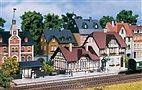 TT Bausatz - Bahnhof Moorbach (Auhagen 13321)