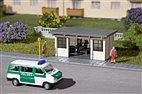 TT Bausatz - 2 Buswartehäuschen (Auhagen 13330)