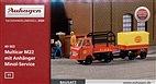 40503 Auhagen - Multicar M22 mit Anhänger, Minol-Service - TT -Neu OVP