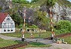 41604 Auhagen - Beschrankter Bahnübergang - HO Bausatz