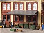 41632 Auhagen - Transportkisten, je 16 St. grün und braun - HO