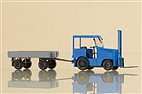 41636 Auhagen - Kleinschlepper mit Anhänger - HO-Bausatz