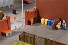 41649 Auhagen - Mülltonnen mit Zubehör - HO