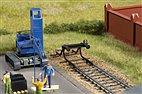 41664 Auhagen - Prellbock, 2 Stück geschwungen - HO-Bausatz