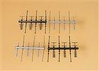 42653 Auhagen -  Antennen, 24 Stück - HO/TT