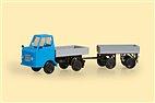 43661 Auhagen - Multicar M22 mit Anhänger - TT-Bausatz - Neu