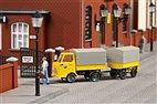 43662 Auhagen - Multicar M22, Post mit Anhänger - TT-Bausatz