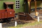 43670 Auhagen - Prellbock, 1 Stück, Holz, Fertigmodell - TT