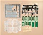 48551 Auhagen - Bastelset für Industriegebäude - HO/TT