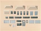 48646 Auhagen - verschiedene Treppen - HO/TT