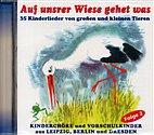 CD - Auf unsrer Wiese gehet was - 35 Kinderlieder von Tieren / 222137