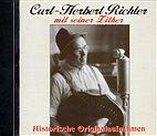 CD - Curt-Herbert Richter mit seiner Zither / Historische Originalaufnahmen