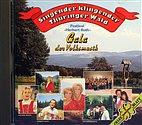 CD - Singender klingender Thüringer Wald / Von der Wartburg bis zur Saale