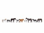 Noch Figuren TT - 45713 Tiere auf dem Bauernhof