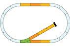 Piko 35301 - Spur G - Gleis Ergänzungs-Set mit Prellbock