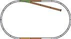 HO Piko A-Gleis / Gleis-Set B / #55310