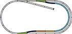 Piko A-Gleis / 55320 Gleis-Set C / Spur HO