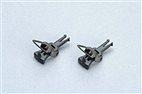 Piko 56030 / Kupplung PIN 72, vollständig (2 Stück)
