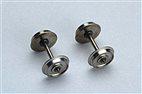 HO Gleichstromradsatz (2 Stck.) 2x Isolierbuchse 11,3mm / Piko 56051