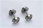 Piko 56052 / Gleichstromradsatz (2 Stck.) 1x Isolierbuchse 10,3mm - HO