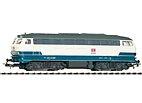 Piko 57517 - Diesellok BR 218 blau/beige, DB AG Ep. V - HO