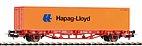 "Piko 57700 / Containertragwagen 40' Lgs579 ""Hapag-Lioyd"", DB Cargo Ep. V - HO"