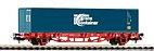 "Piko 57773 / Containertragwagen Lgs 579 ""TransContainer"", Ep. VI - HO"