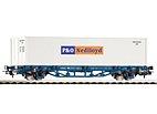 """Piko 58740 / Containertragwagen 40' """"P&O Nedlloyd"""", MAV - HO"""