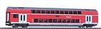 Piko 58803 - Doppelstock-Sitzwagen 2.Kl. DB Regio, Ep. VI - HO