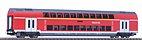 Piko 58804 - Doppelstock-Sitzwagen 1./2.Kl. DB Regio, Ep. VI - HO